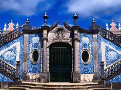 Portuguese azulejos (the blue and white tiles)  Azulejos de Portugal, Portuguese Tiles, azulejos