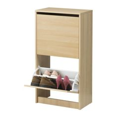 BISSA Shoe cabinet with 2 compartments IKEA