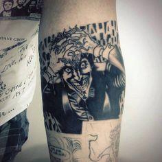 Joker Tattoo - Original Dragão Tattoo Studio. Savassi, BH.