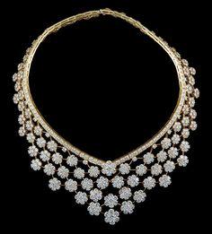 VAN CLEEF & ARPELS Diamond ''Valenciennes'' Necklace