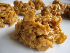 """Not the healthiest, but FINALLY found the recipe to the """"rice"""" crispy treats my mom used to make with cornflakes!!"""