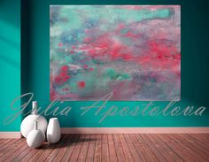 #Turquoise #Wall #Art, #Minimalist #Painting, #Abstract #Seascape, #Watercolor, #Beach #HouseDecor, #PinkandTurquoise #TurquoiseArt, #LargeAbstractPainting #WallArt #BeachHomeDecor #MinimalArt #Print #AbstractPrint #AbstractPainting #AbstractSeascape #ArtforSale #artcollector #Etsy by #JuliaApostolova
