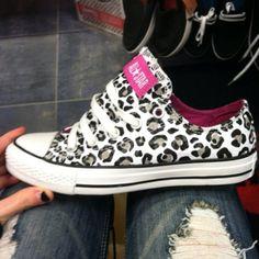 Snow leopard chuck taylor's!!