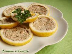 LIMONI RIPIENI | ricetta antipasto | Zenzero e Limone