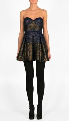 my dress is more gold and black, but this essentially my semi formal look!!! (: eeeek! can't wait!!