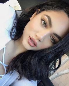 11 Best Black Hair Green Eyes Images Black Hair Hair Makeup