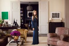Aerin Lauder South Hampton Home | A Touch of Leopard | McGrath II Blog