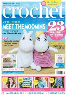 MAGAZINE: Inside Crochet Issue 66 2015 - ❤️LCM-MRS❤️ with diagrams.