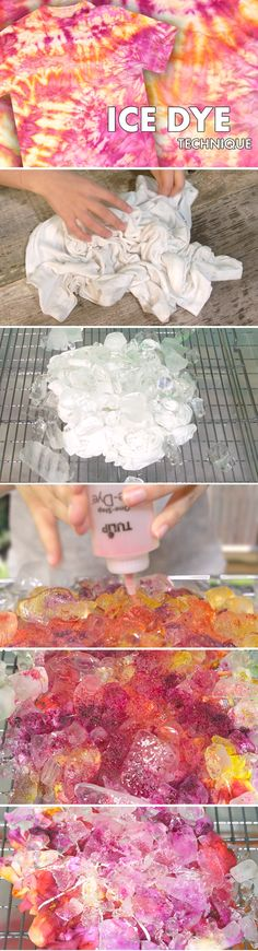 ~ TIE DYE GALORE ~ Ice Dye Technique