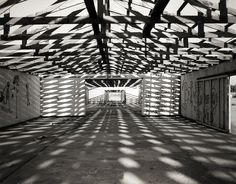 This Abandoned Warehouse Photograph was taken while exploring the desert near Salton Sea in Southern California - by Lost Kat Photo lostkat.com