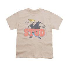 Johhny Bravo - Stud Youth T-Shirt