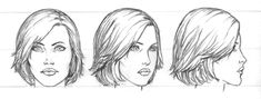 Art 130 Character Design (IS): September 2013 Guy Drawing, Woman Drawing, Drawing Faces, Female Head, Female Face, Female Reference, Pictures To Draw, Woman Face, Art Tutorials