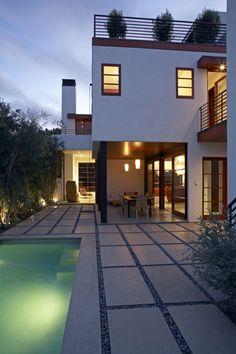 Gorgeous contemporary residence on Venice Beach