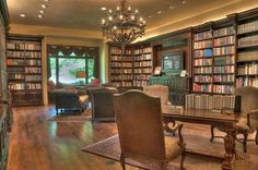 Looking for a place to escape? How about this home library. Los Ranchos De Abq, NM Coldwell Banker Legacy