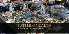 WARHAMMER FEST 2014 - L'incroyable table de jeu de la bataille de Calth par Forgeworld !