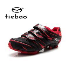 TIEBAO Road Racing TPU Soles Mountain Biking Shoes Cycling Sport Breathable Athletic MTB Cycling Shoes Sapatilha Ciclismo Mtb