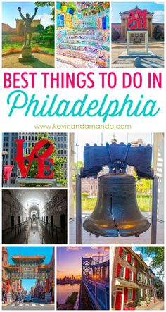 The Top 10 things you have to see in Philadelphia!!