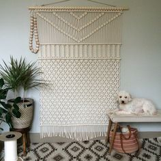 Decorate Your House with Macrame Wall Hanging: Macrame Wall Hanging | Macrame Projects For Beginners | 70s Macrame