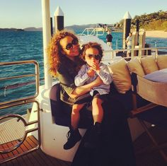 Pin for Later: The Sweetest Candid Celebrity Mom Snaps Mariah Carey and Moroccan