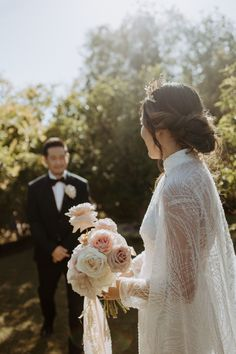 Carrissa + Brian celebrated their wedding in a beautiful garden located in San Diego, CA. Outdoor Wedding Photography, Couple Photography, Destination Weddings, Beautiful Gardens, San Diego, Wedding Hairstyles, Groom, Wedding Day, Flower Girl Dresses
