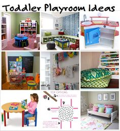 Want to create a playroom for your child? Learn about some must-haves to  make the most playtime & discover some creative toddler play room ideas.