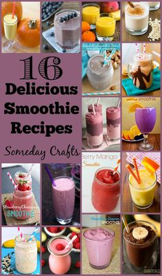 16 Mouth-Watering Smoothie Recipes