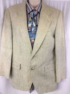 Kuppenheimer Men's Clothiers Sport Coat Vintage 2 Button Vented Mens Blazer #Kuppenheimer #TwoButton