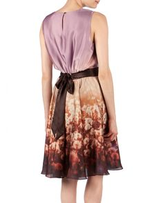 Obsessed with this ombré dandelion dress by Ted Baker