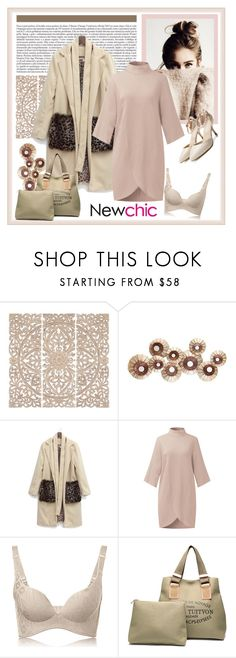 """NewChic 211. (Woman 41.)"" by carola-corana ❤ liked on Polyvore featuring Home Decorators Collection"