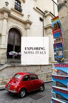 One of the most charming towns I visited on my journey through Southern Italy & Sicily had to be Noto. You've never heard of it? Well, that's not surprising. Sicily Travel, Italy Travel Tips, Europe Travel Guide, Europe Destinations, Travel Guides, Noto Sicily, Sicily Italy, Venice Italy, Toscana Italy