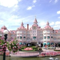 Disney hotel in paris.and that's where the beauty and the beast castle is at. i'd die of happiness. Disney Resorts, Disney Trips, Hotels And Resorts, Hotel Disney, Disney Travel, Walt Disney World, Disney Parks, Disneyland Paris, Disney Love