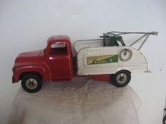 Vintage Buddy L  Repair It Tow Truck