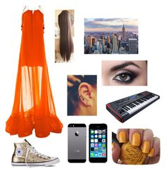"""""""Untitled #911"""" by catrinel-grigorescu on Polyvore featuring Alexis, Converse, FingerPrint Jewellry and OPI"""