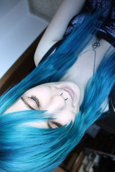 More turquoise hair lol