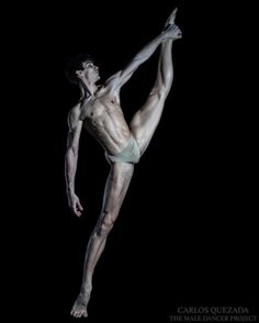 Marti Fernandez Paixa demi-soloist at Stuttgart Ballet photographed by Carlos Quezada for The Male Dancer Project
