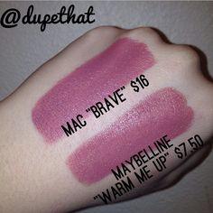 MAC Brave Dupe   Dupethat