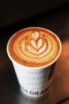 ... because we like when our latte is artsy.