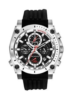 Bulova Watch - Men's Precisionist Stainless Steel Chronograph #Kohls #MensFashion