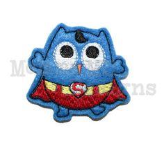 Super Owl Felt Feltie Embroidery Design by MommaMC on Etsy, $3.50
