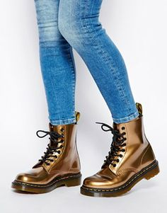 Image 4 of Dr Martens Core Pascal Patent Copper 8-Eye Boots