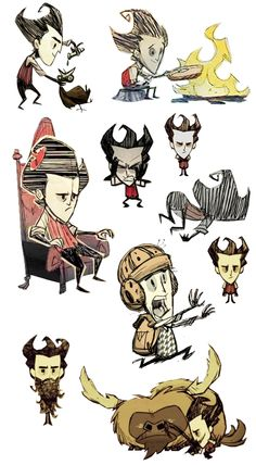 Don't Starve: Wilson Collection 3!