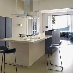 Minimal kitchen | Open-plan kitchen ideas | Kitchen | PHOTO GALLERY | Beautiful Kitchens | Housetohome.co.uk