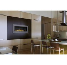 Kitchen w/ built-in fireplace - Napoleon