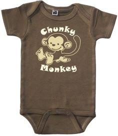 Funny Baby Onesie (Chunky Monkey - Size 0 - 3 mo) One Cute Bebe,http://www.amazon.com/dp/B0044MVF0O/ref=cm_sw_r_pi_dp_fOy3rb05DSTHGZ2H