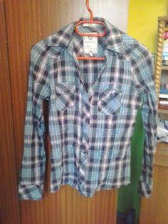 W poszukiwaniu szczęścia...: Sprzedaję koszula w kratkę