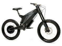 "Stealth ""Bomber""  Electric Mountain Bike"