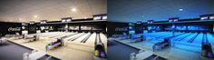 FiveX bowling alley visualisation