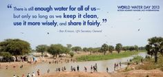 Learn more about why clean water matters and how we're working on water and sanitation issues around the world.