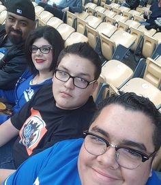 THINK BLUE: With the family enjoying life by tronlives69