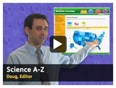From Learning A-Z, Science A-Z provides science resources for elementary students and teachers. // Science A-Z and Common Core Standards